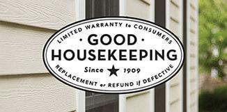 James Hardie Good Housekeeping Seal