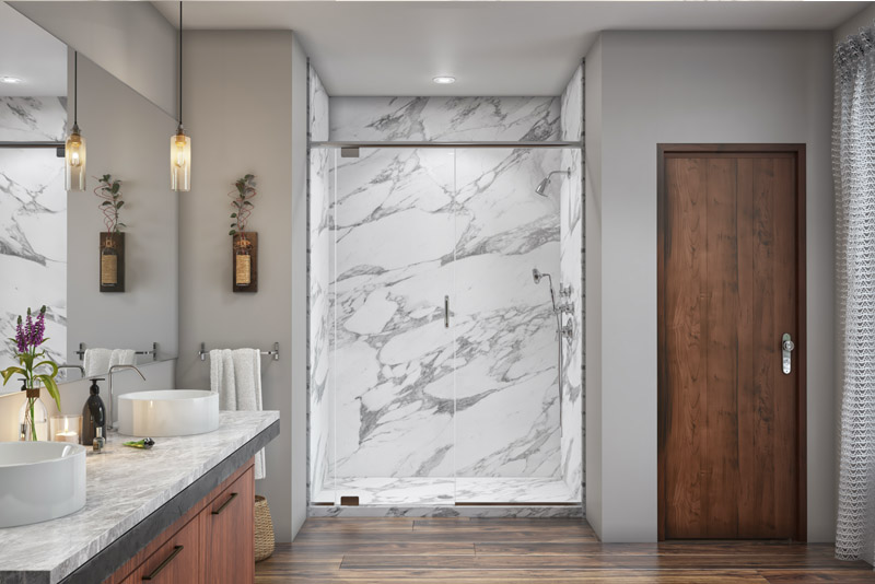 Granite & Quartz Shower Walls