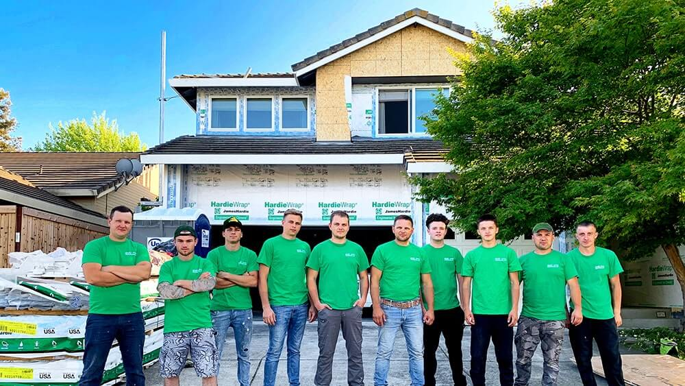 GVD Renovations Siding Installers Crew