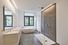 Complete Bathroom Remodel Design