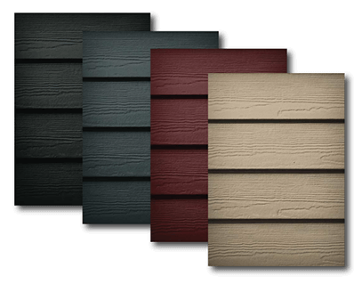 Siding Color Palette