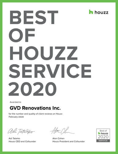 Best of Houzz 2020 Service Award