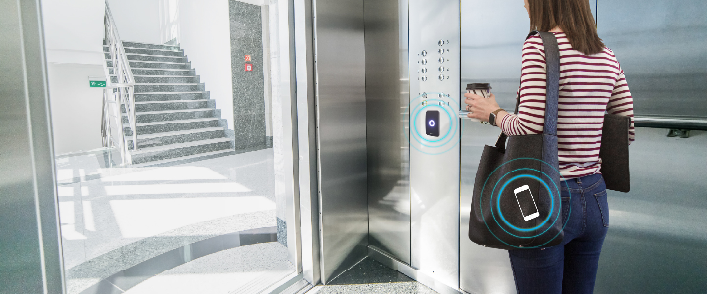 Touchless Elevators | Smart Elevator Technology | Openpath
