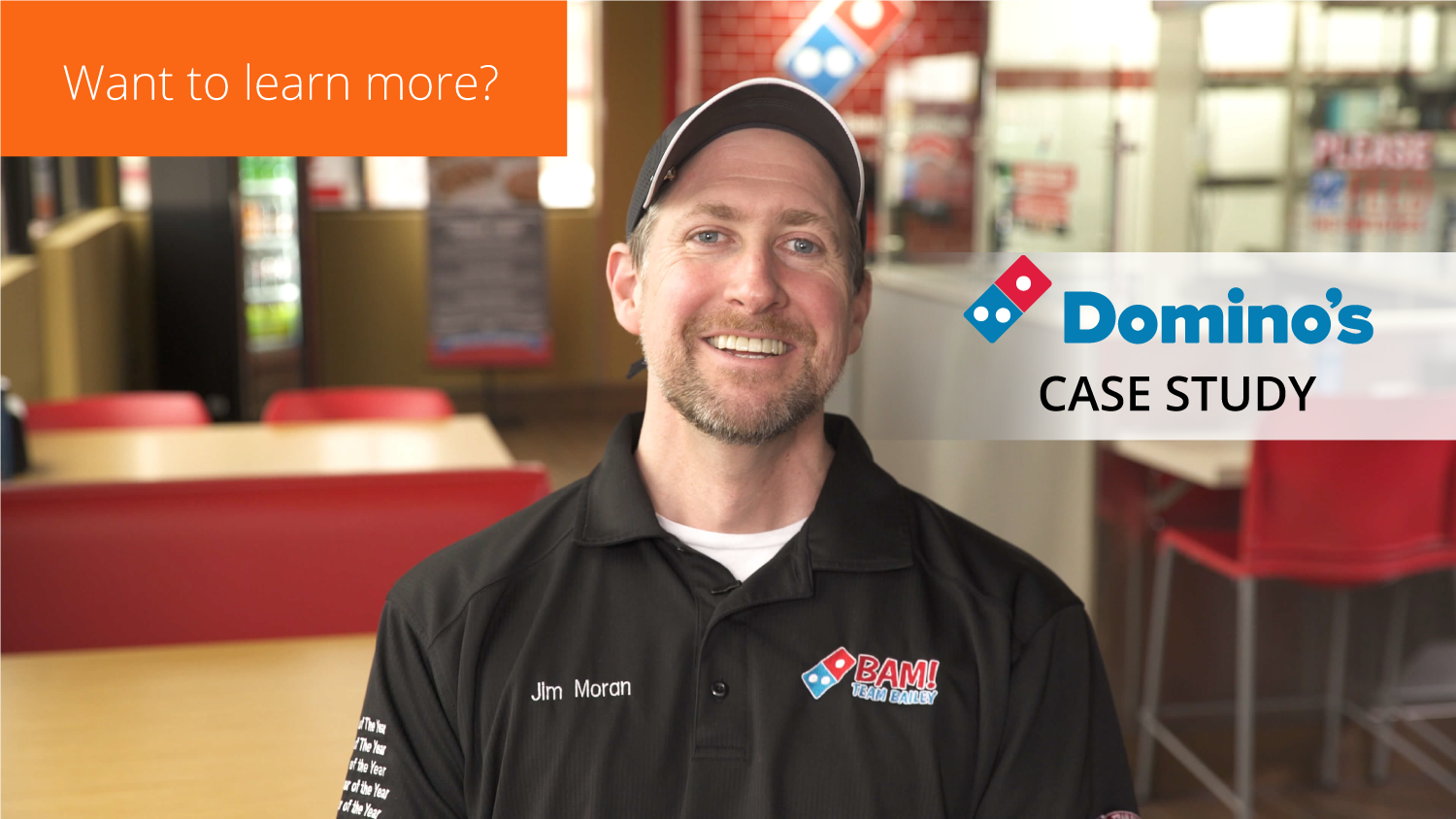 Want to learn more? Read our Domino's case study