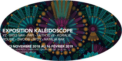 Kaleidoscope: A female street art exhibition