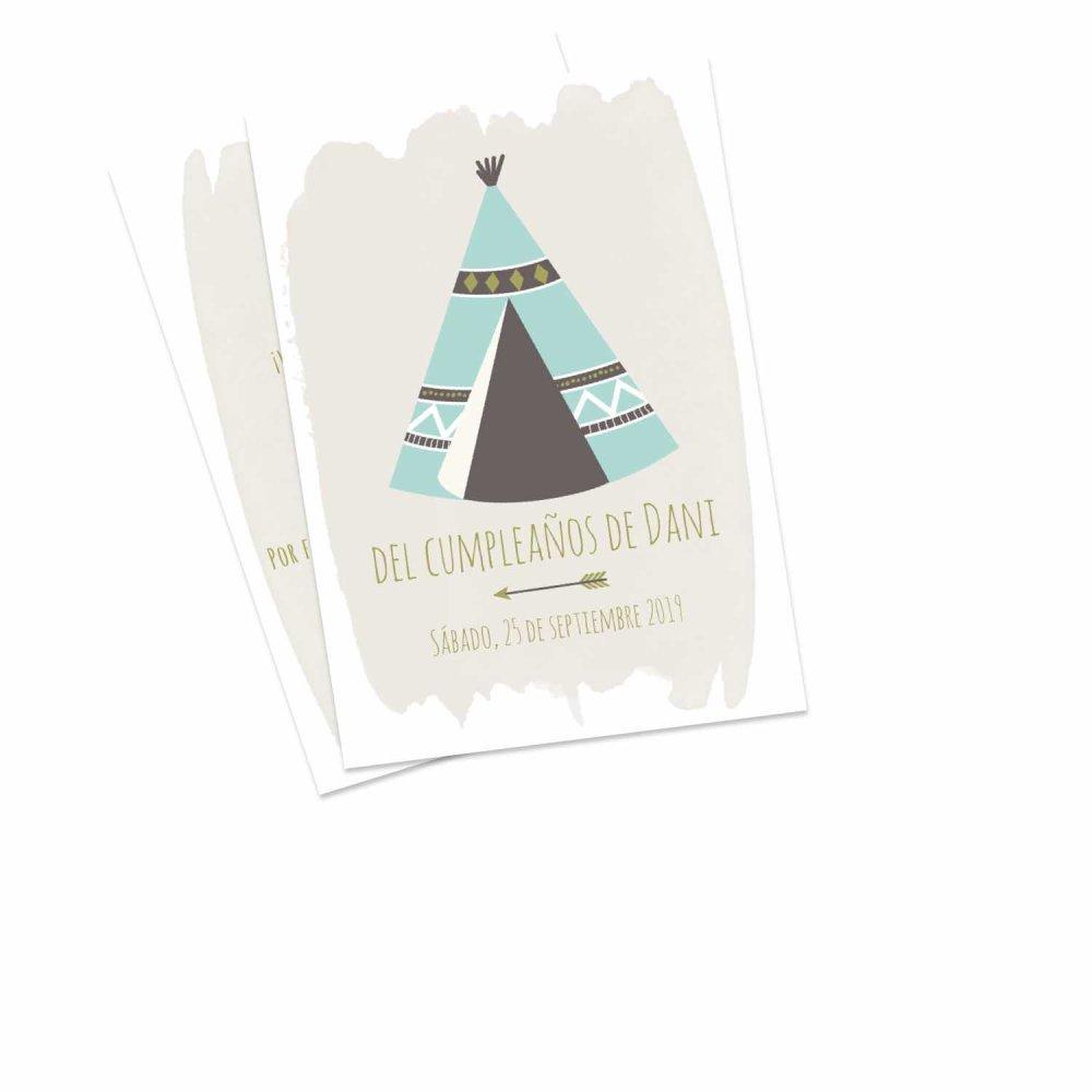 50 Invitaciones De Cumpleaños Personalizadas Por Ti Crea