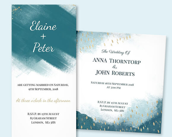 Artistic wedding invitations created by you at optimalprint us new collection stopboris Gallery