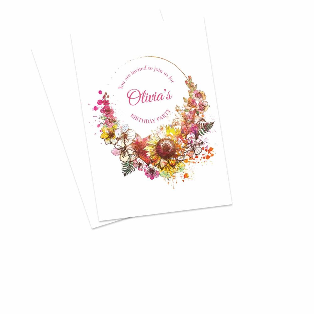 Birthday Invitations Personalized By You