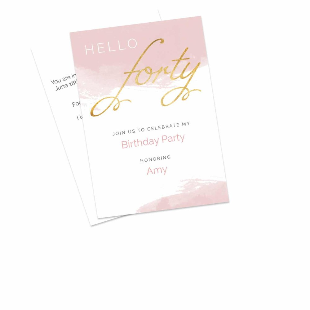 Birthday Invitations Personalised By You