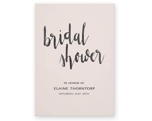 Artistic wedding invitations created by you at optimalprint us bridal shower invitations stopboris Gallery