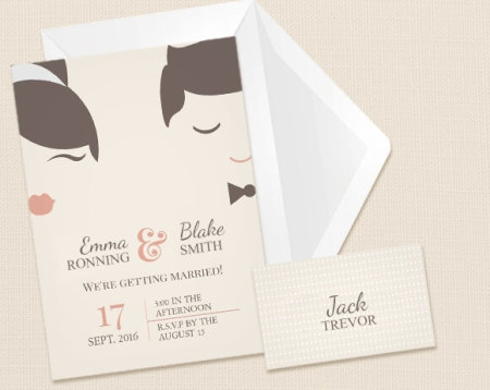 Wedding Invitations Personalised By You With Photo