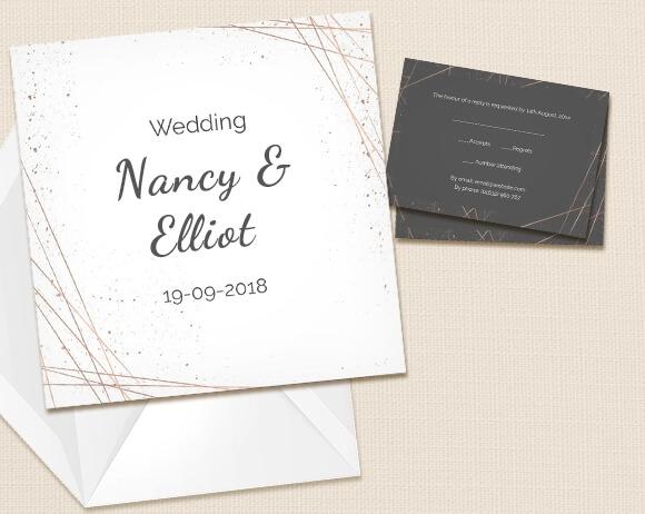 Wedding Invitations UK Photo Wedding Invites Optimalprint UK