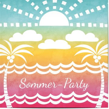 Einladungen zu Party, Sommerfest & Grillparty