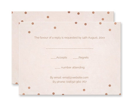 Wedding invitations personalised by you with photo option rsvp cards stopboris Gallery