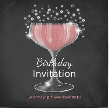 Verjaardagsuitnodigingen