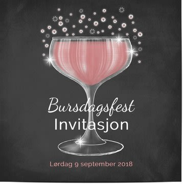 Bursdagsinvitasjoner