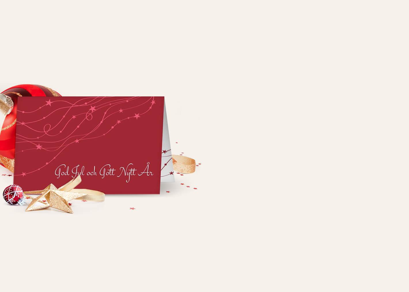 Julkort för företag