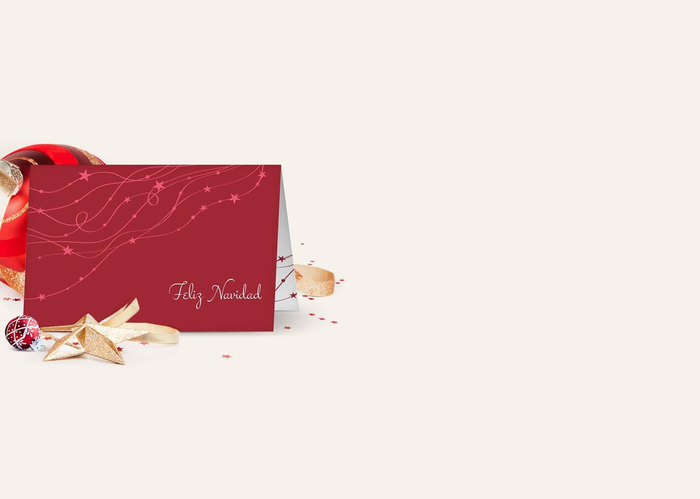 Tarjetas de Navidad para empresas