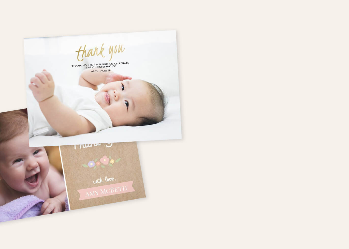 Baptism Invitations | Baptism Cards | Personalized Invites ...