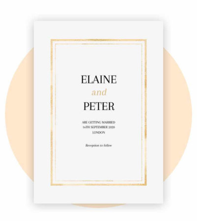 Wedding Invitations Personalized By You With Photo