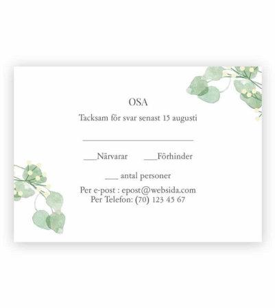 6938ad64ff30 Inbjudningskort till bröllop - Skapa personliga kort från våra ...
