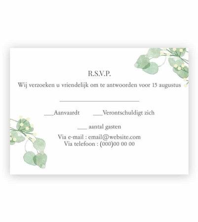 Trouwkaarten Personaliseer Uw Eigen Uitnodiging Met Foto