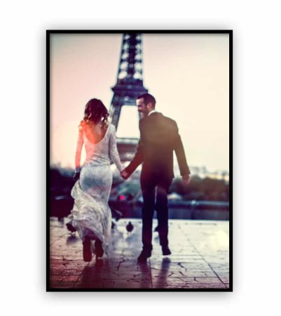 Hochzeits-Poster