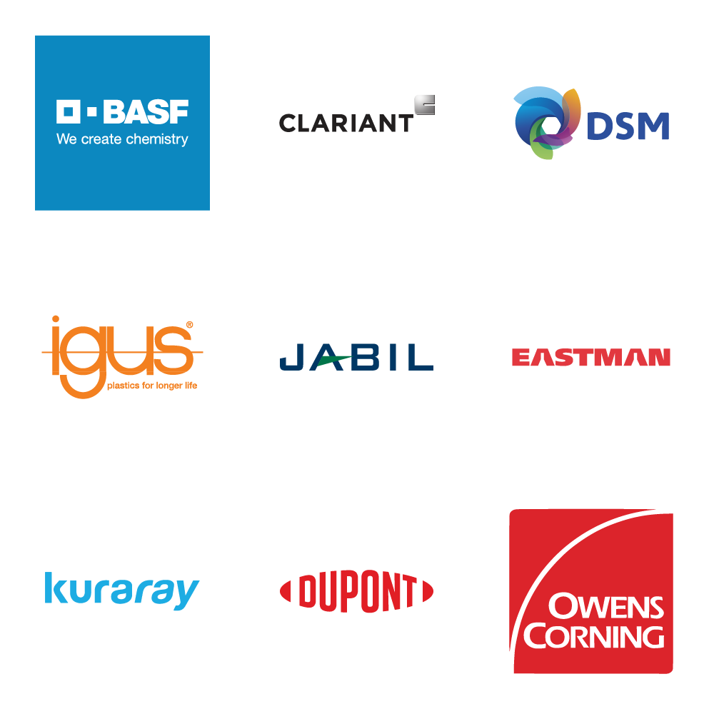 Ultimaker Material Alliance member logos