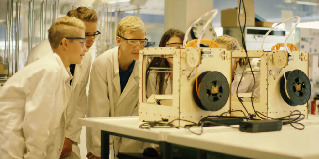 Vathorst College: Integrating 3D printing in high school
