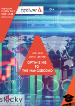 Front page image of news article:  Optimising to the Nanosecond