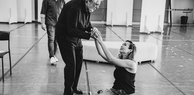 """Prove di """"La traviata"""" © Michele Monasta-Teatro del Maggio"""