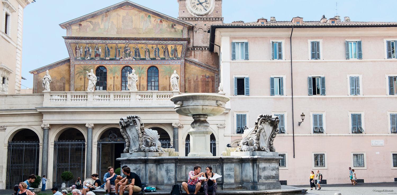 Fontana di Santa Maria in Trastevere