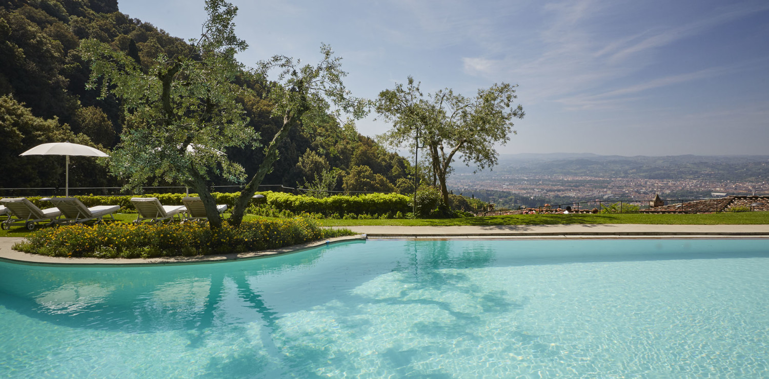 piscine firenze toscana estate panorama