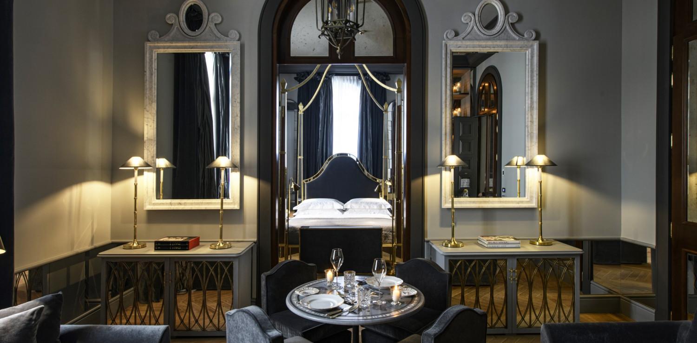 il nuovo Helvetia & Bristol con 25 nuove camere e suite firmate dalla designer Anouska Hempel