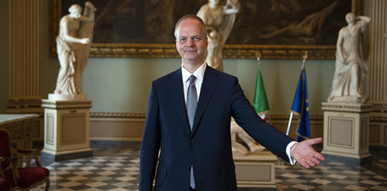 Eike Schmidt, direttore della Galleria degli Uffizi