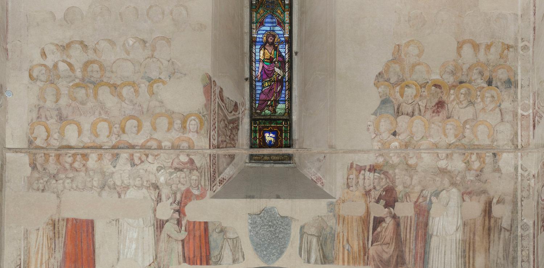 Cappella della Maddalena Museo Nazionale del Bargello detail
