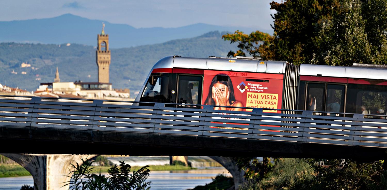 Tram-e-d'Arte, Florence by tram