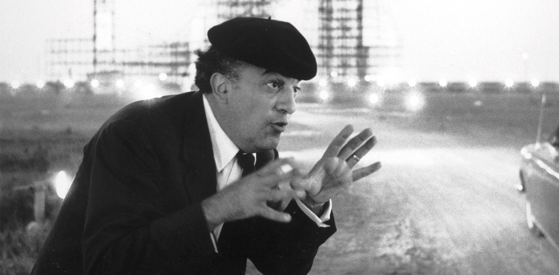 Federico Fellini photo credit Tazio Secchiaroli Photomovie