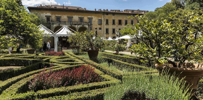 Il Palazzo e il Giardino Corsini durante Artigianato e Palazzo ph Alessandro Moggi