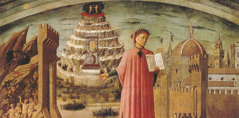 La Divina Commedia in una illustrazione di Botticelli