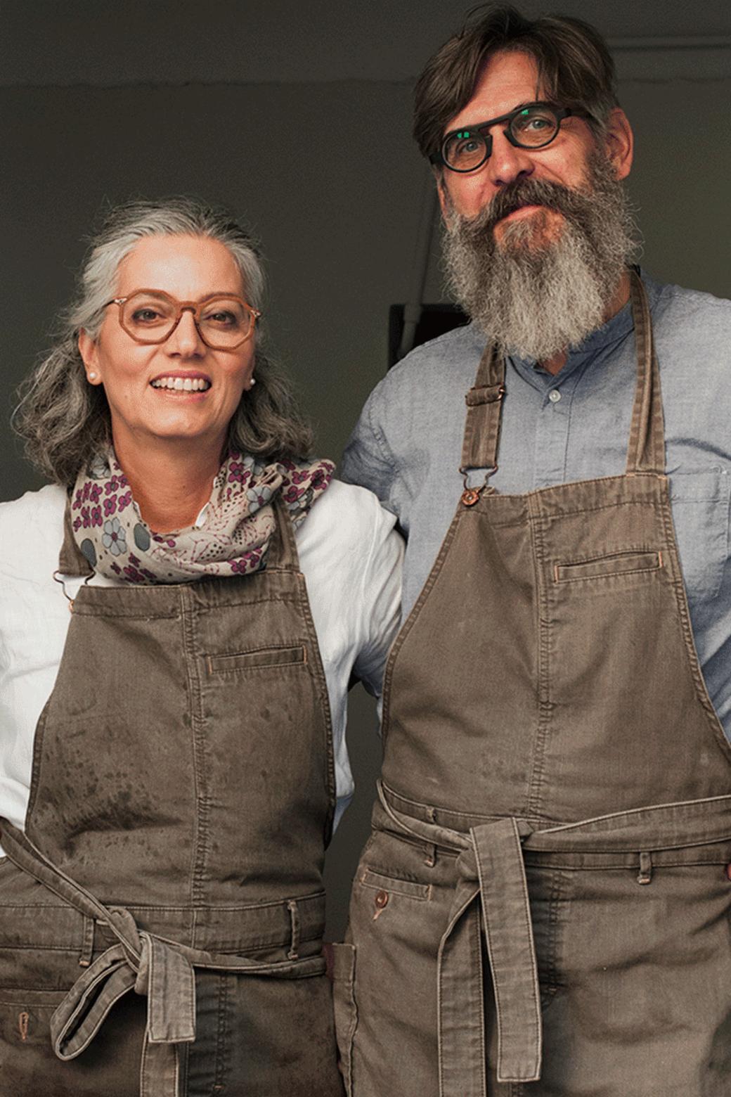 Lisa Gabellini and Jochen Andreas