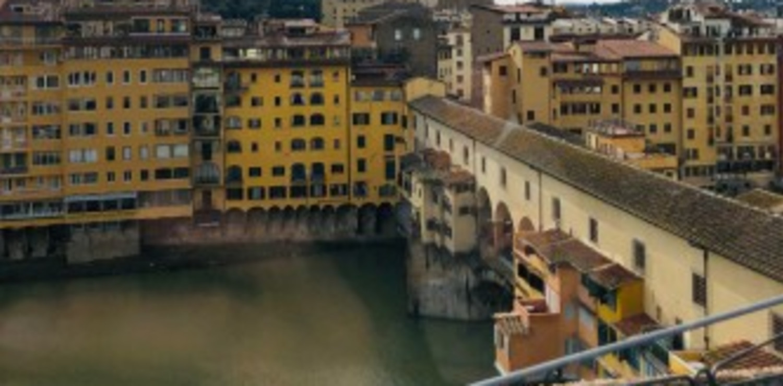 Osteria Delle Tre Panche Hermitage - Terrace view