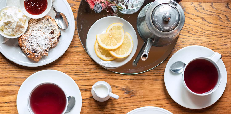Itinerario Sale da tè a Roma