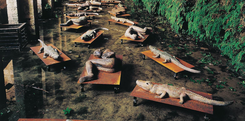 MIMMO PALADINO  I Dormienti, 1998 Progetto per Arte all'Arte 3