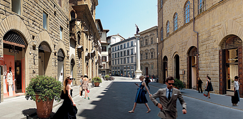 Via de' Tornabuoni, Firenze