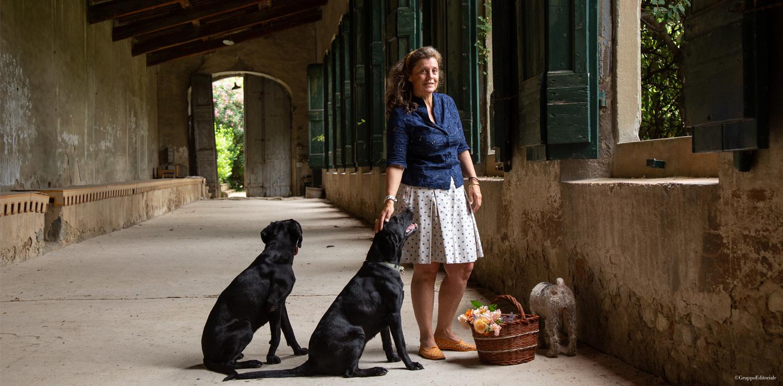 Sabina in the Corsini Garden lemon house