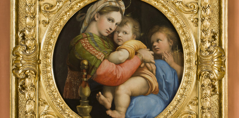 Madonna della Seggiola -  Raffello