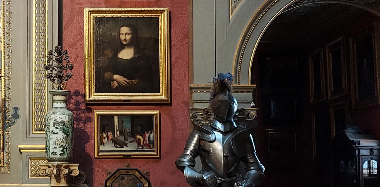 Monna Lisa - Firenze - museo Stibbert - Sala Della Malachite