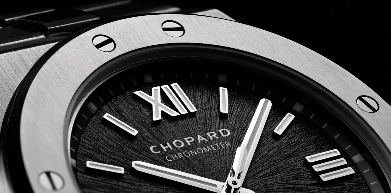 Chopard, Alpine Eagle dial detail