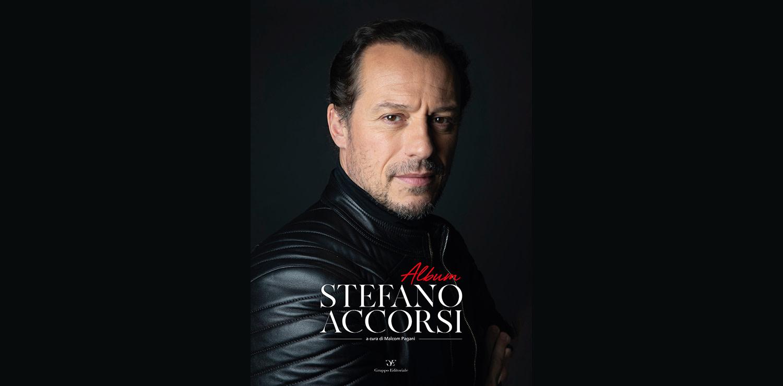 Album Stefano Accorsi cover del nuovo libro edito da Gruppo Editoriale